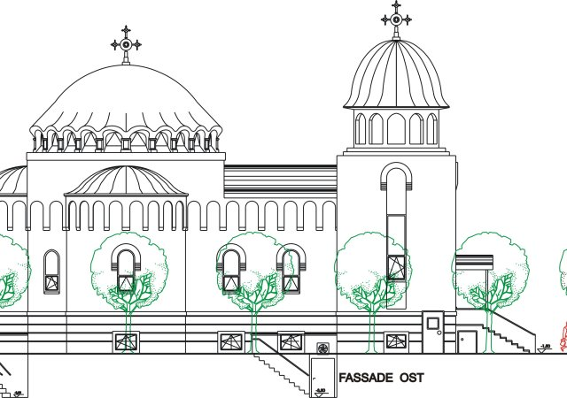 Kirche orthodoxe mannheim käfertal Rumänischer Schatz