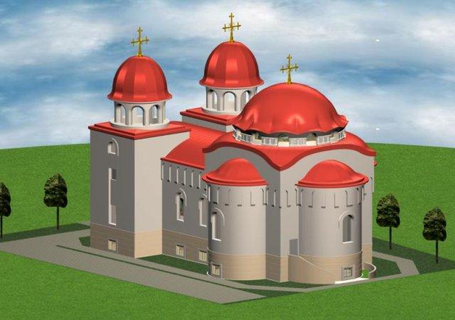 Rumänisch-Orthodoxe Kirche, Alter Postweg 12-14, Mannheim